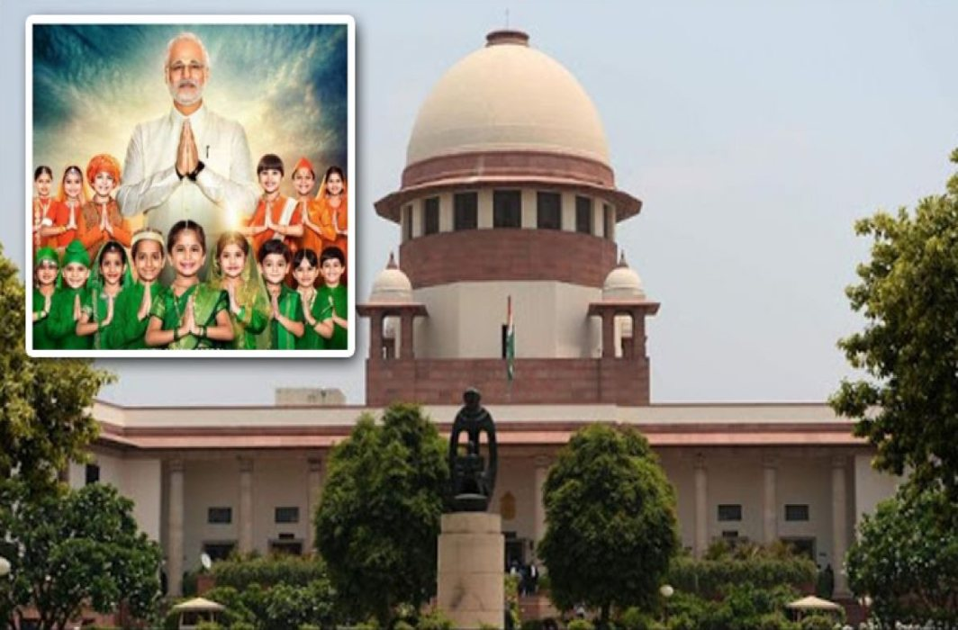 Supreme Court asks EC to watch full Modi biopic, give opinion by Fri in sealed cover