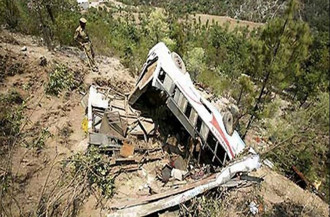 At least 12 dead as bus fall into gorge near Dalhousie in Himachal Pradesh