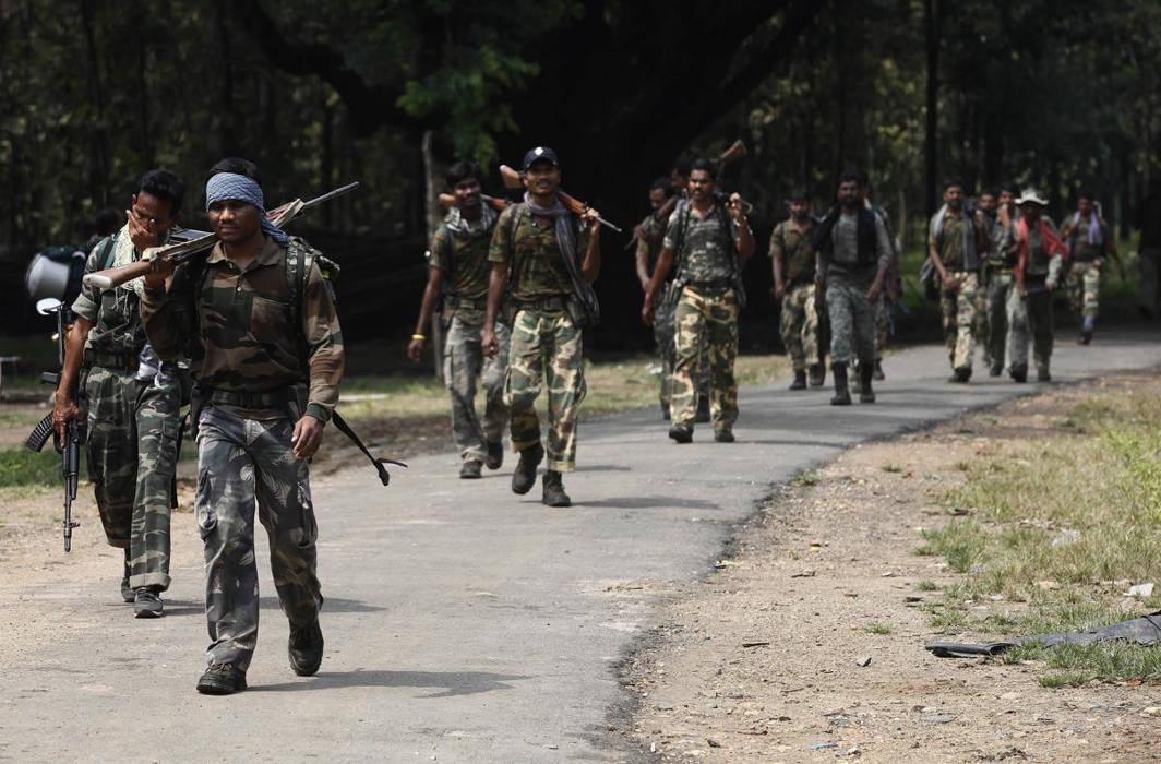 Maoist attack in Maharashtra
