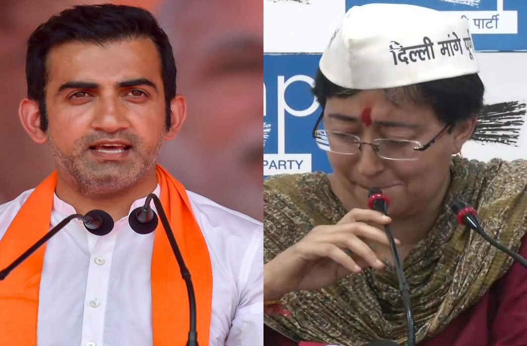 Obscene pamphlet row: Gambhir files defamation suit against AAP, Kejriwal hits back
