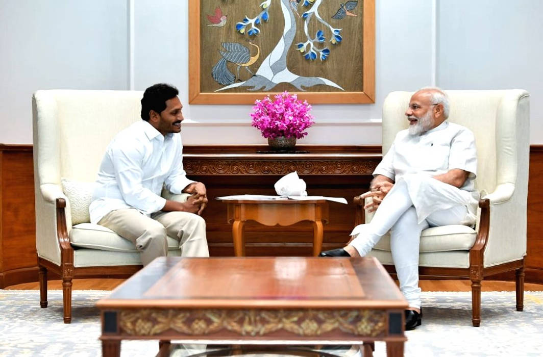 Jagan Reddy visits PM Modi after his glorious victory in Andhra Pradesh