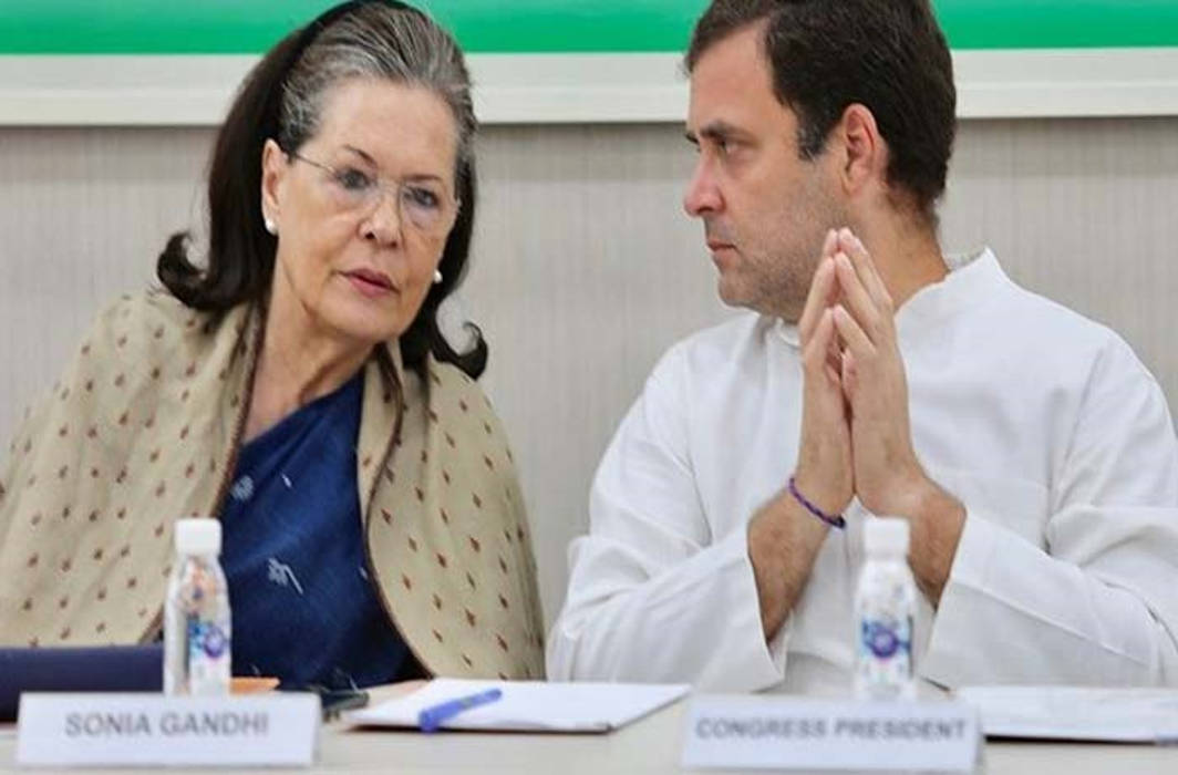 Sonia Gandhi elected leader of 52 lawmakers, Rahul says will fight BJP 'Everyday'