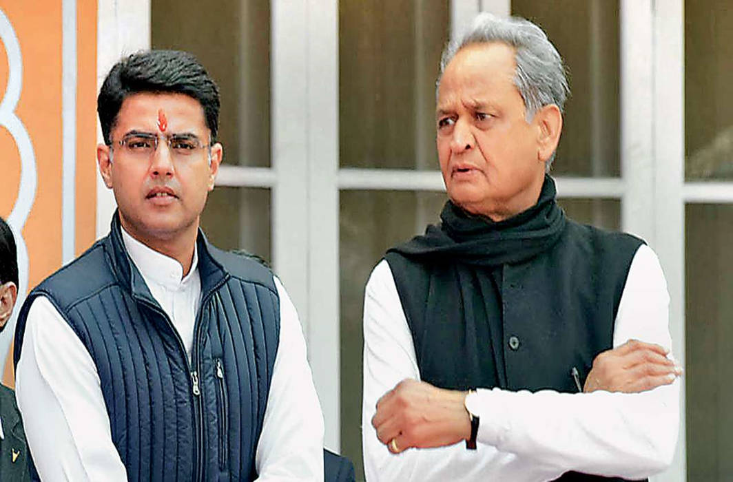 Sachin Pilot should take responsibility for my son's defeat: Ashok Gehlot