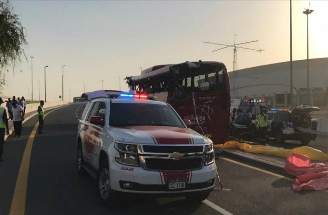 Eight Indians among 17 killed in Dubai bus accident