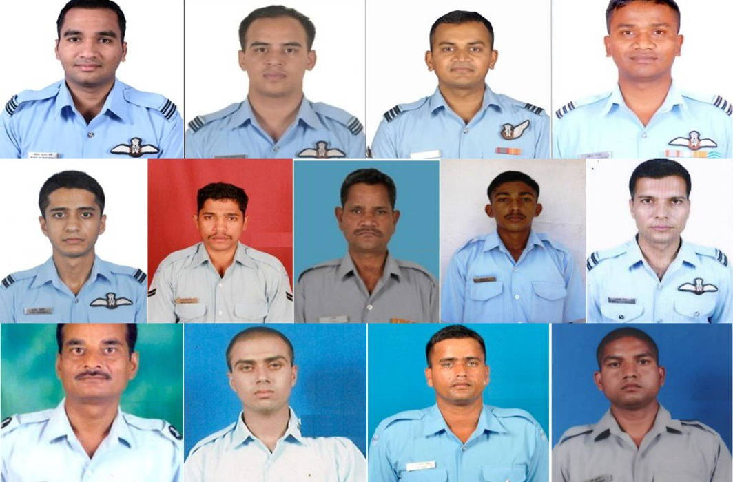 Bodies of 13 Air Force men killed in AN-32 aircraft crash recovered