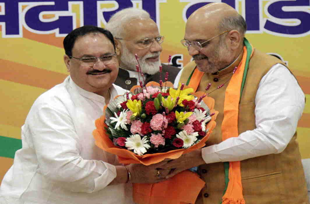 JP Nadda, Narendra Modi, Amit Shah