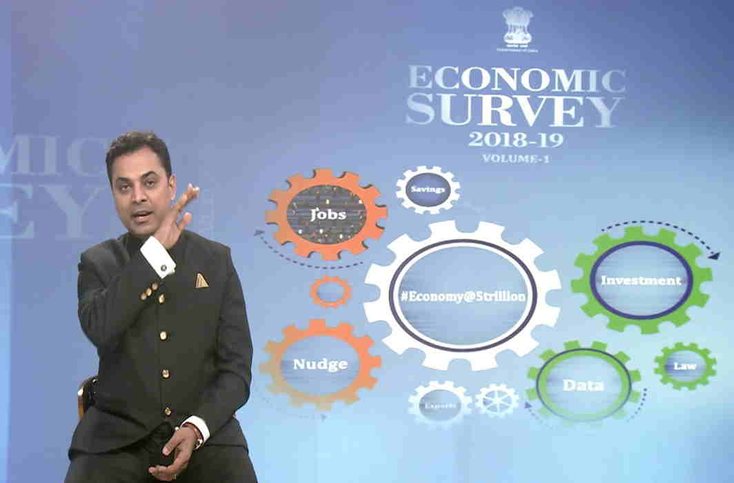 Economic Survey projects 7 per cent growth rate for financial year 2019-20