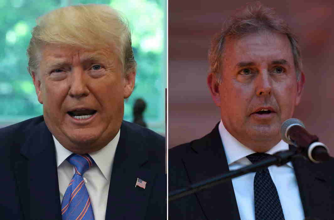 Trump hits back at UK envoy who said he is 'inept', 'dysfunctional' and 'radiates insecurity'