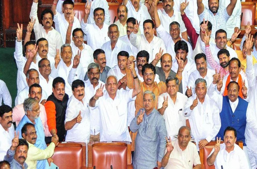 Kumaraswamy govt in Karnataka falls, BJP calls it 'victory of democracy'