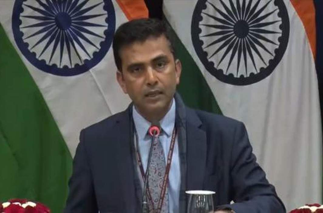 MEA Raveesh Kumar