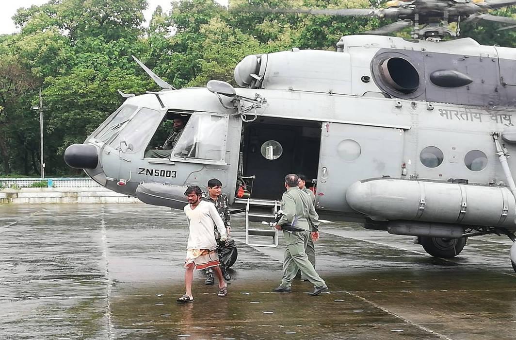 Monsoon flood havoc continues in Gujarat and Maharashtra