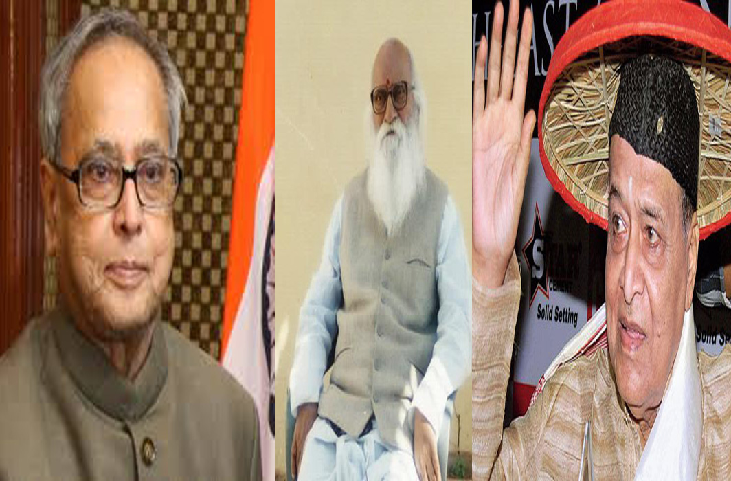 Pranab Mukherjee, Nanaji Deshmukh, Bhupen Hazarika awarded Bharat Ratna: Gandhis skipped the ceremony