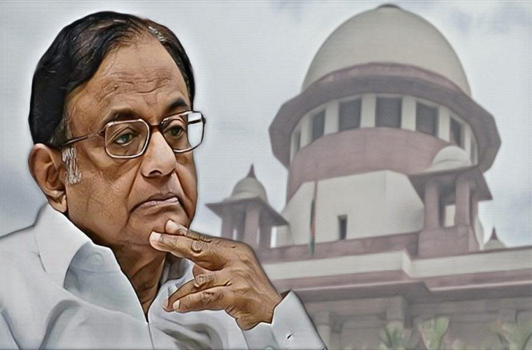 SC grants Chidambaram interim protection from ED – till CBI custody gets over on Aug 26