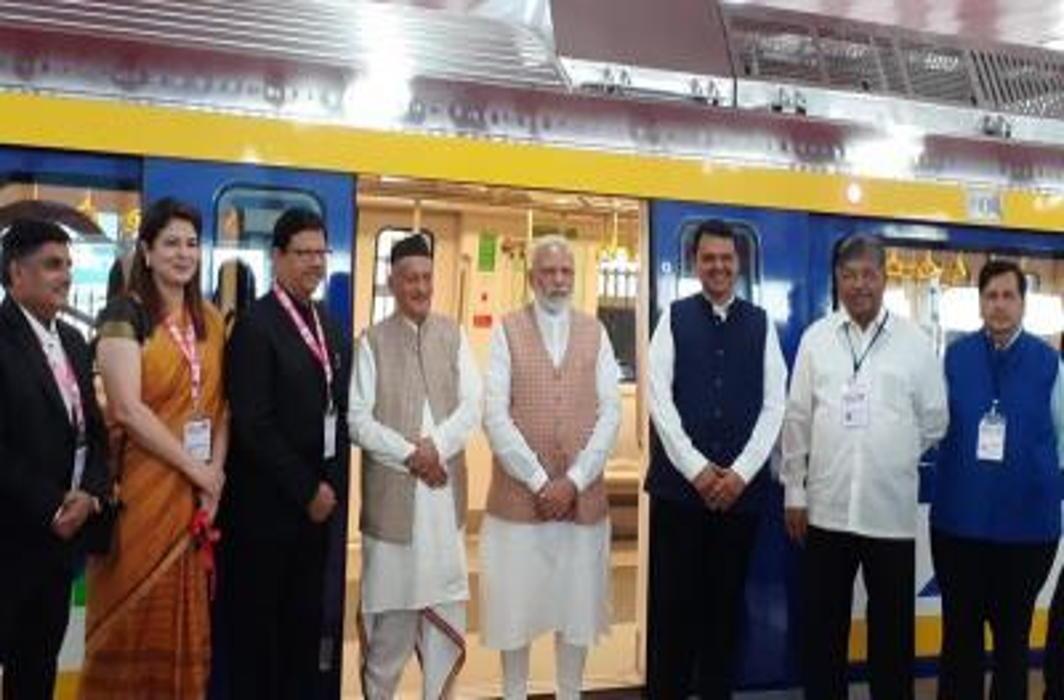 PM Modi inaugurates First 'Make in India' Metro Coach in Mumbai