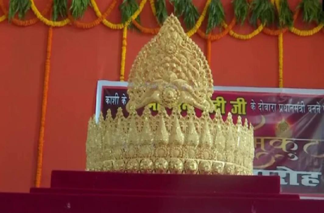 Gold Crown to mark PM Modi's Birthday