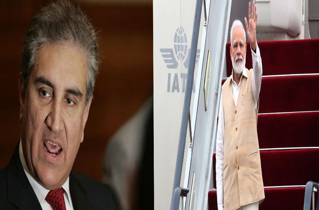 PM Modi's plane not allowed in Pakistan airspace: Shah Mahmood Qureshi