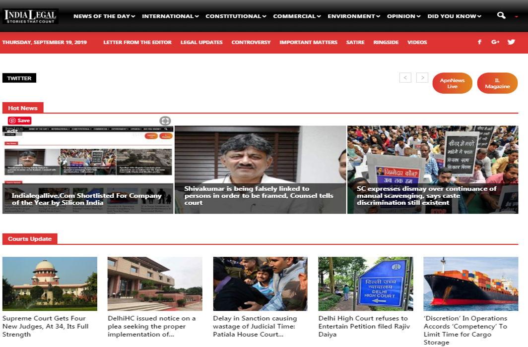 India legal website