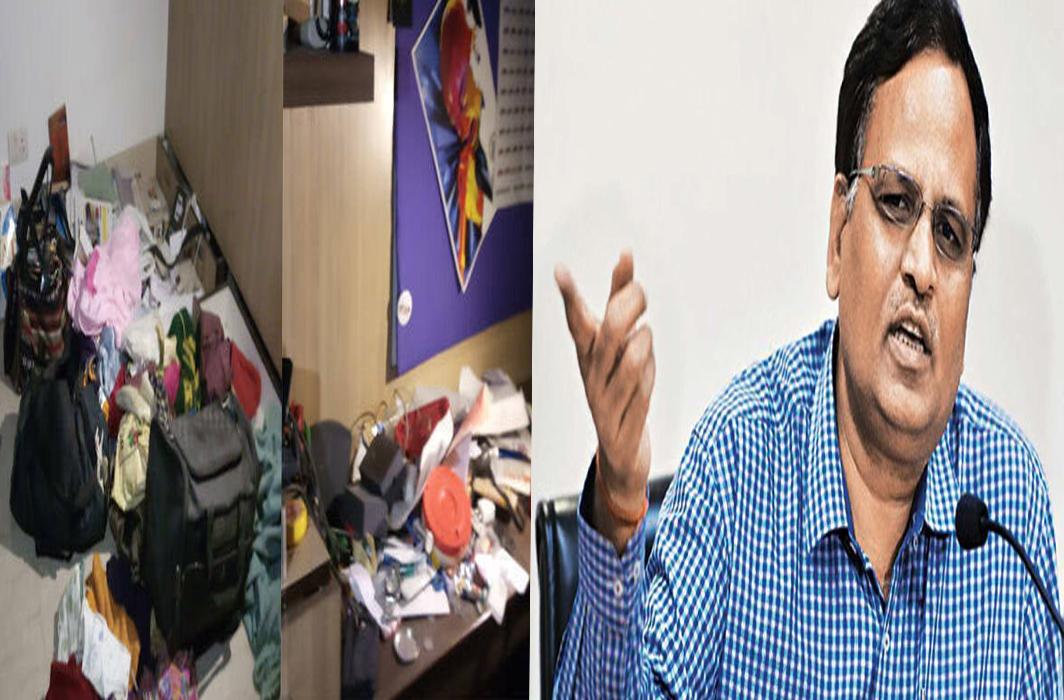 Delhi Health Minister Satyendar Jain claims Theft at Home
