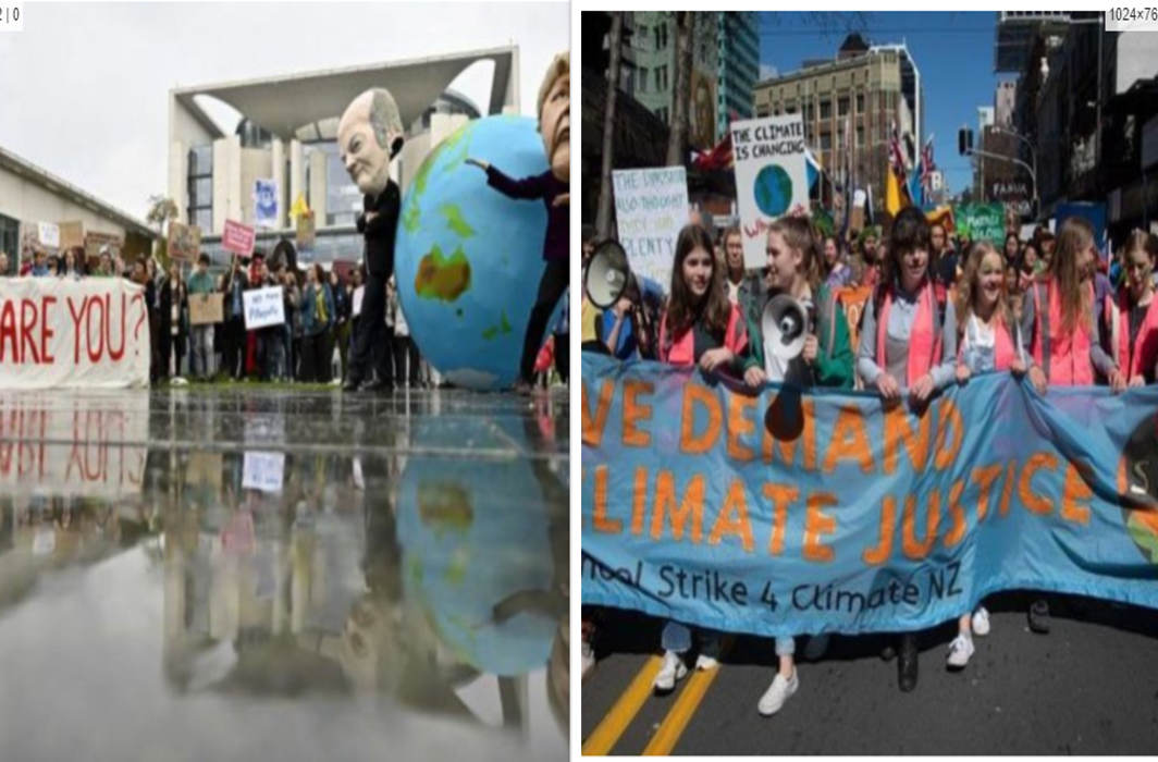 """""""Skipping School to Teach YOU"""": New Zealand Students Lead Climate Strike"""