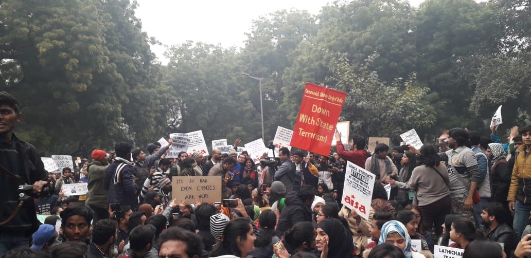 Jantar Mantar Protest against CAA