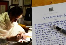 A letter by Amitabh