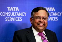 "First non-Persian chairman of Tata group ""Chandra,"" in 150 years"