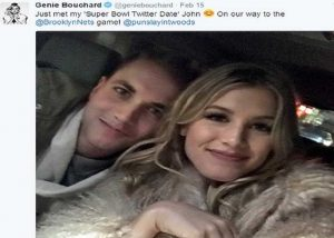 Eugenie Bouchard goes on date with fan