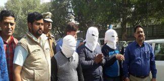 5 crook arrested to looting in delhi