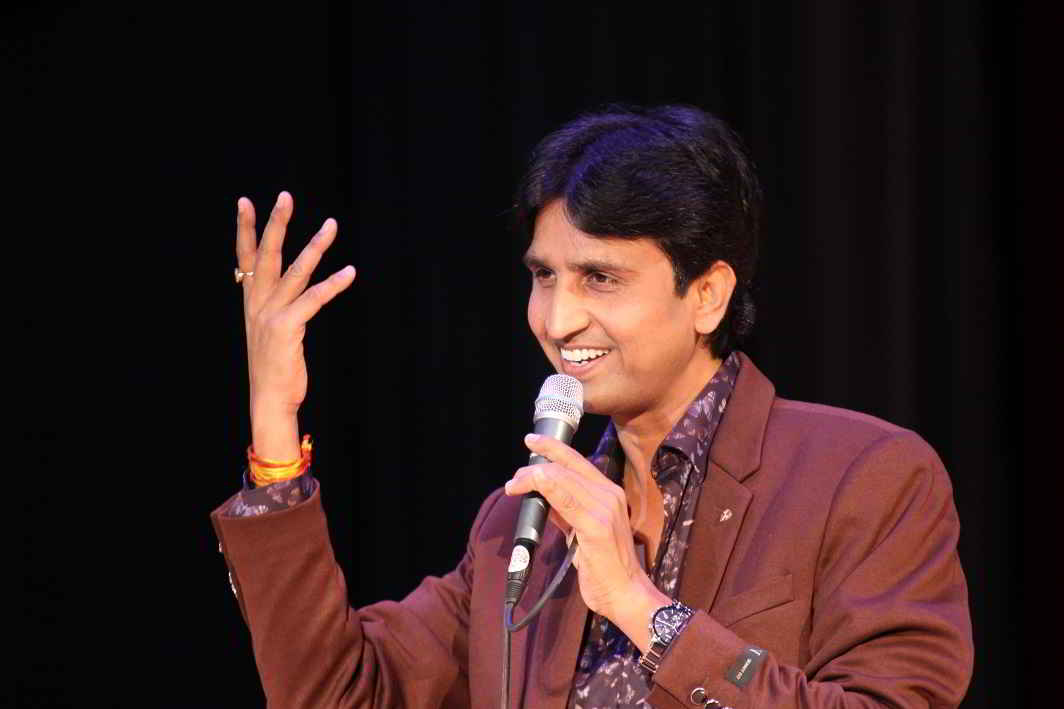 Kumar Vishwas said that here also ass there are also ass