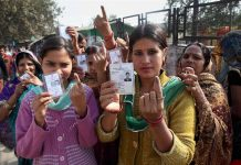 bumper voting in Uttarakhand and UP