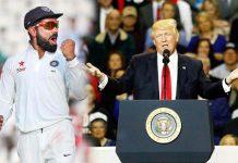Donald Trump & Virat Kohli