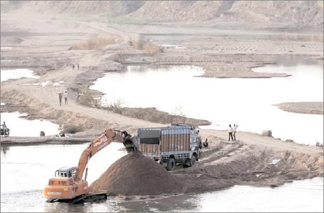 Yogi government action on illegal mining