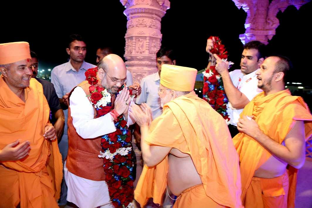 After celebrating the glorious victory in UP, Bharatiya Janata Party President Amit Shah is now preparing for Gujarat.