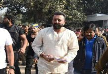 Clash Between Security and media people on the shooting of Bhoomi