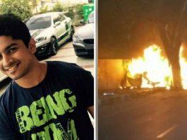Car racing champion Ashwin dies in car crash with wife