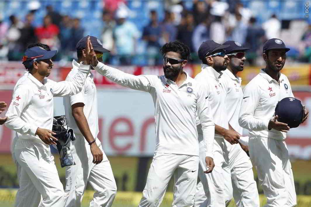 Without Viraat, India won the last Test, india possession on Series