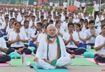 PM will be addressing Yoga Festival in Rishikesh