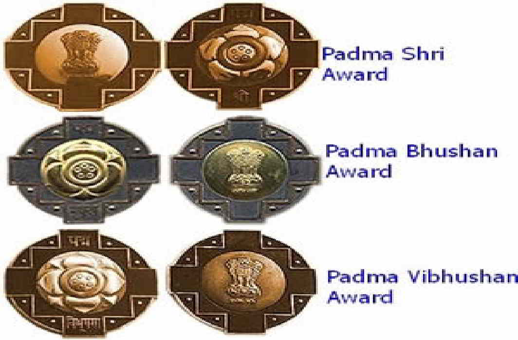 The names of many famous personalities removed for the Padma awards.