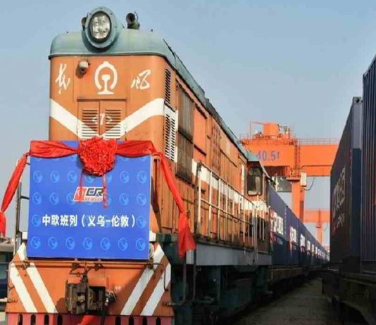 first freight train from Britain to china set to depart