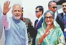 Bangladesh Prime Minister Sheikh Hasina is on a tour of India from today