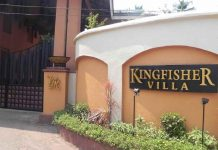 Vijay Mallya's famous Kingfisher Villas: auctioned in RS 71.1 crores