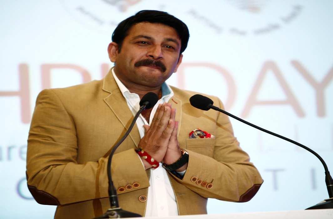 Manoj Tiwari launches Vijay Vikas Yatra for MCD election