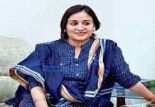 Aparna yadav targeted Akhilesh Yadav in gestures