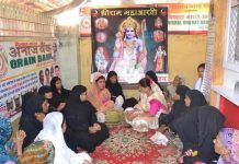 Ramnavmi's Dhoom in Shiva Nagari, Muslim women perform aarti of lord rama