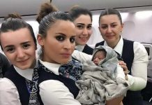 Woman gave birth to daughter, with help of cabin crew at 42,000 feet height
