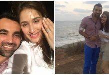 Zaheer Khan's engagement with Bollywood actress Sagarika Ghatge
