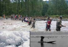 Flood conditions in Jammu and Kashmir