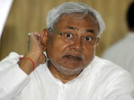 The truck carrying the bodies of Sukma martyrs was stopped to allow Nitish Kumar convoy to pass