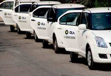 Ola Company has make April Fool Day its customers