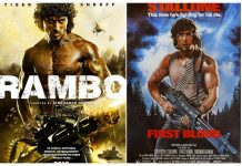 first look of Indian version of Sylvester Stallone film 'Rambo' starrer Tiger Shroff